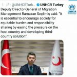 معاون مدیر کل مهاجرت ترکیه
